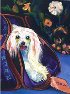 Sugar, Elizabeth Taylor's Dog 2005 Limited Edition Print - Ron Burns