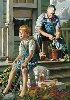 Greatest Story Teller 2007 Limited Edition Print - Bob Byerley