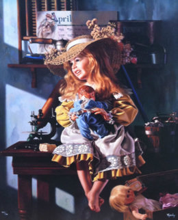 Monday Thru Sunday 1994   Embellished   Limited Edition Print - Bob Byerley