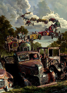 Checkered Flag  - Bob Byerley
