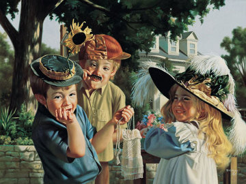 Make Ema Laugh 2001 Limited Edition Print - Bob Byerley