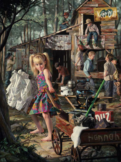 Clubhouse 1997 by bob byerley for Best way to sell your art online