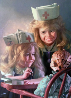 Doll Hospital 2003 Limited Edition Print - Bob Byerley