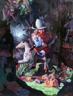 Lookout Limited Edition Print - Bob Byerley