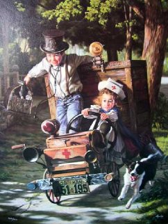 Help on the Way 1993 Limited Edition Print - Bob Byerley