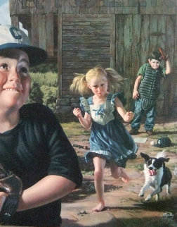 Bean Ball AP 1998 Limited Edition Print - Bob Byerley