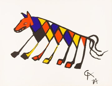 Beastie (Braniff Airlines) 1974 Limited Edition Print - Alexander Calder