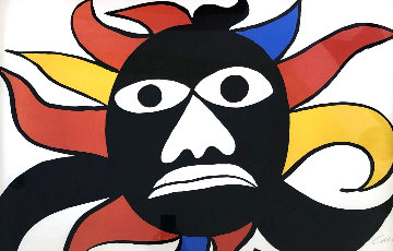 Black Man 1969 Limited Edition Print - Alexander Calder
