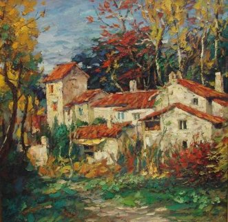 Fall 2000 30x30 Original Painting - Cao Yong