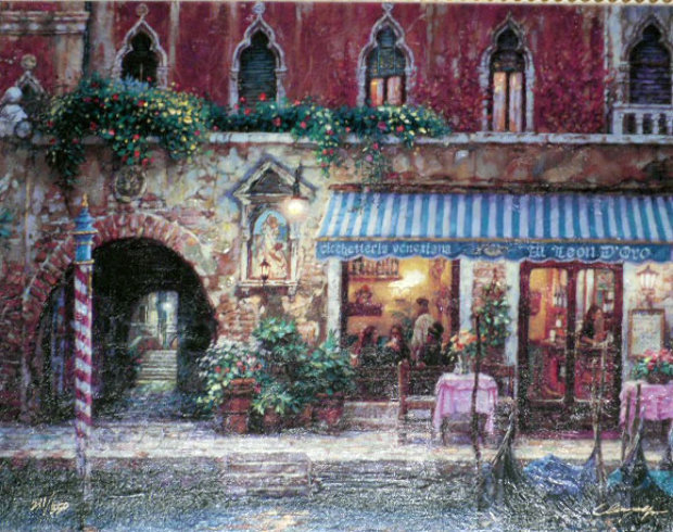 Venice Nights, and Day of Love (Set of 2 Prints)