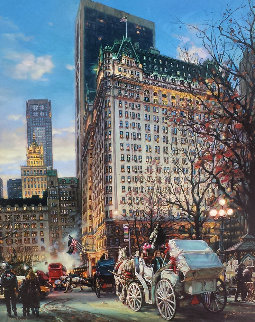 Heartbeat of New York Embellished Limited Edition Print - Cao Yong