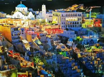 Firatown Santorini Panorama - William Carr