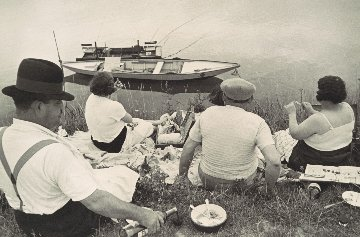 Sunday on the Banks of the River Marne Photography - Henri Cartier-Bresson