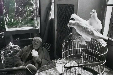 Henri Matisse, Vence, France Limited Edition Print - Henri Cartier-Bresson