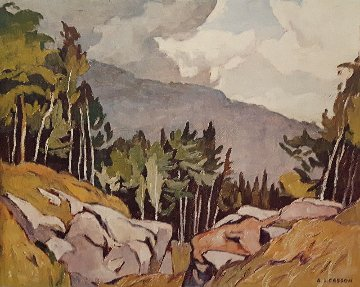 Near Rockingham 2001 Limited Edition Print - A.J. Casson