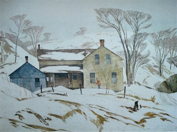 Valley Farm 1980 Limited Edition Print - A.J. Casson