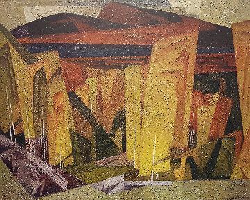 Poplar Grove AP 1980 Limited Edition Print - A.J. Casson