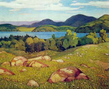 Haliburton Limited Edition Print - A.J. Casson