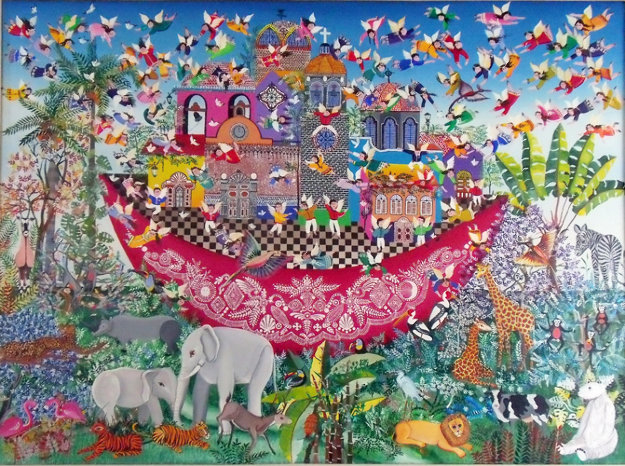 Untitled (Noah's Ark) 1983 31x43