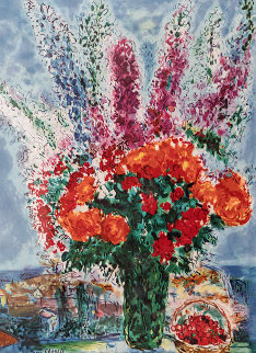 Le Boutique De Renocoules HS Limited Edition Print by Marc Chagall