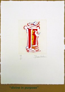 Outer Signs of Inner Grace, Suite of 6 Etchings Limited Edition Print - John Chamberlain