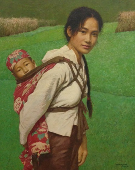 Ba Shan Mother 1996 33x39