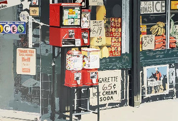 Little Italy 1981 Limited Edition Print - Charles Bell