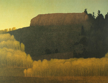 Fall Near Deadman's Gulch 2001 Limited Edition Print - Russell Chatham