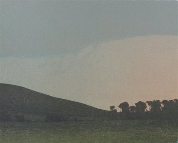 Late November Afternoon 2005 Limited Edition Print - Russell Chatham