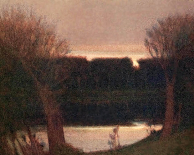 Pond in Fading Light 1992