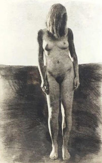 Standing Nude Woman AP Limited Edition Print - Chase Chen