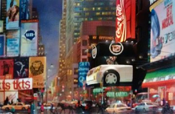 Times Square 47th St. New York 2006 Limited Edition Print - Alexander Chen