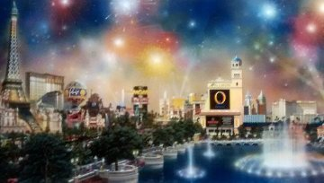 Las Vegas Panorama 2006 Limited Edition Print - Alexander Chen