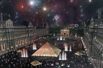 The Louvre  Limited Edition Print - Alexander Chen