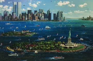 New York Gateway 2013 Embellished   Limited Edition Print - Alexander Chen