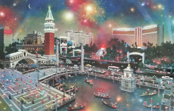 Grand View (Las Vegas) 2001 Limited Edition Print - Alexander Chen