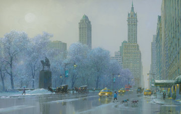 Central Park South Morning  Limited Edition Print - Alexander Chen