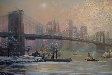 Brooklyn Bridge Camber Embellished 2013 Limited Edition Print - Alexander Chen