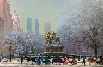 Central Park South 2004 Limited Edition Print - Alexander Chen