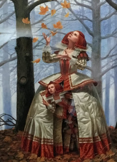 Enigma 2016 17x16 Limited Edition Print - Michael Cheval