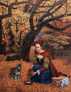 Flippant Benevolence 2017 Limited Edition Print - Michael Cheval