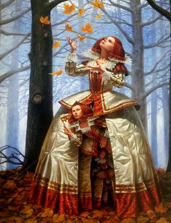 Enigma 2016 Embellished Limited Edition Print - Michael Cheval