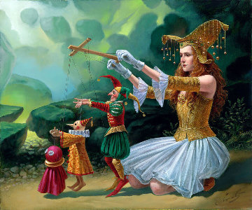 Evolution 2015 Limited Edition Print - Michael Cheval