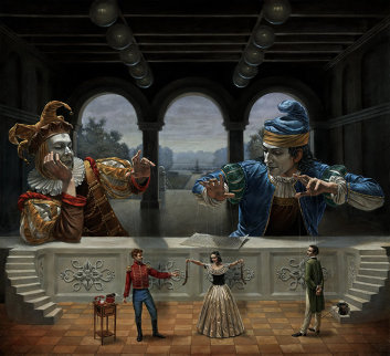 Art of Diplomacy II Limited Edition Print - Michael Cheval