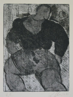 Untitled Lithograph 1987 Limited Edition Print - Sandro Chia