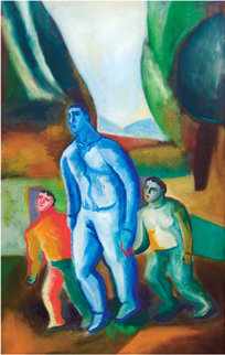 Father and Sons 2009 Limited Edition Print - Sandro Chia