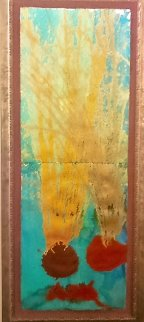 Dale Chihuly Basket Painting  created  1997  94x40  Original Painting - Dale Chihuly