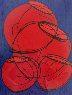 Red Hot Baskets  2002 Limited Edition Print - Dale Chihuly