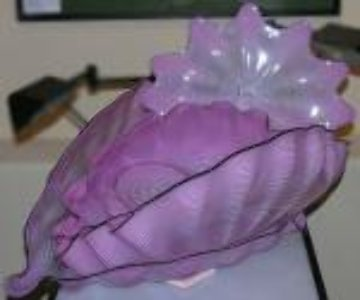 Pink Seaform 7 Pc Glass Sculpture Set 1995 Sculpture - Dale Chihuly