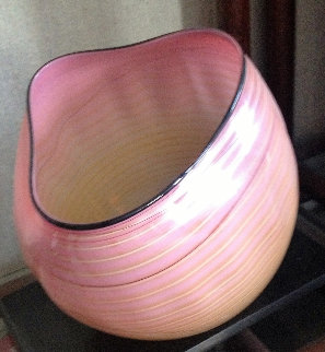Pink / Orange  Glass Sculpture 2003 Sculpture - Dale Chihuly